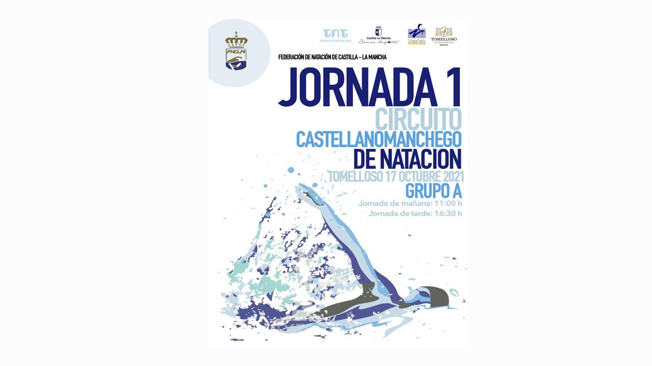 Comienza la temporada en Tomelloso con la 1ª Jornada del Circuito Castellanomanchego de Natación del Grupo A